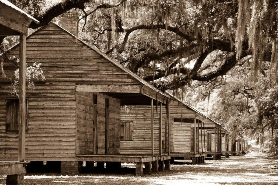 Slave cabins in the south