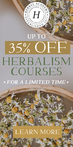 Back to school SALE on herbalism programs!