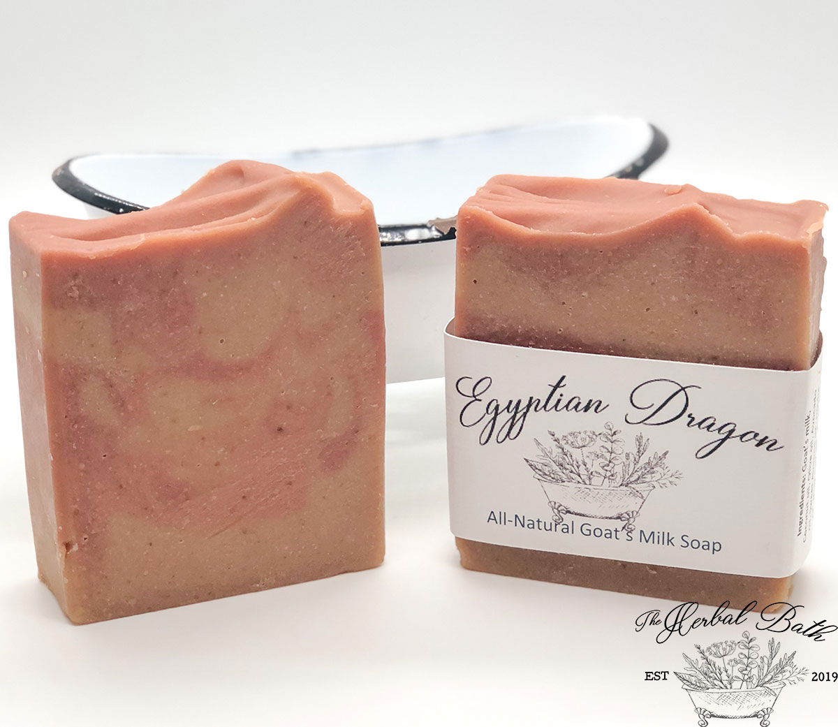 Egyptian Dragon Soap with color