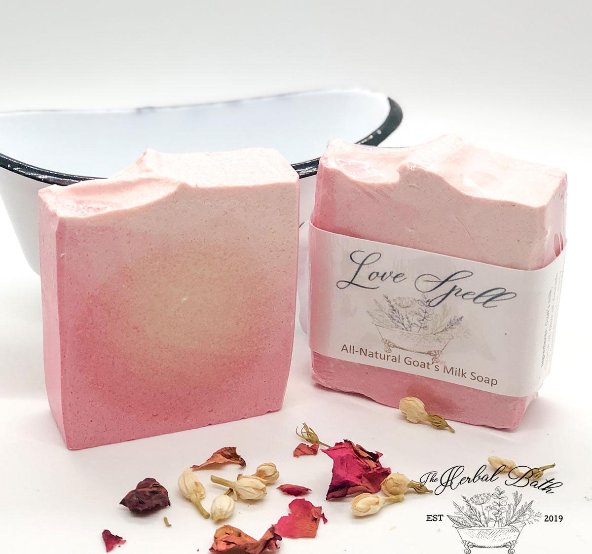 Love Spell Soap