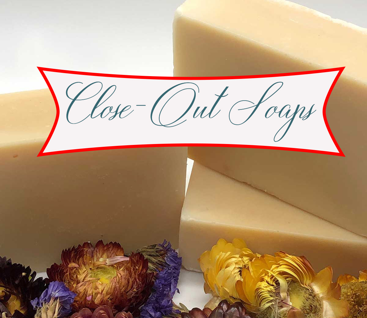 Close-out soap sales