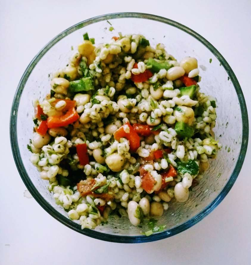 vegan bean grain salad gluten free healthy costco salads recipe costco salad recipe bean salad from costco recipe tuscan bean salad recipe