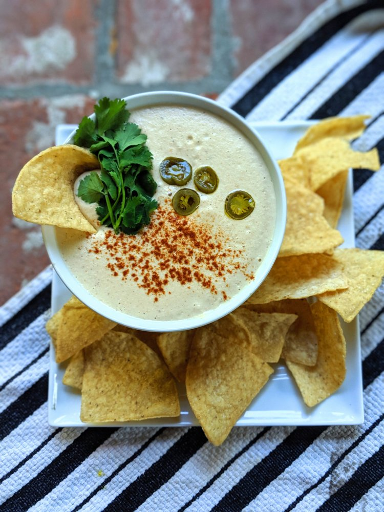 cashew cream queso salsa spicy pantry recipes