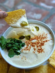 Healthy Vegan Queso Whole30 and Paleo approved