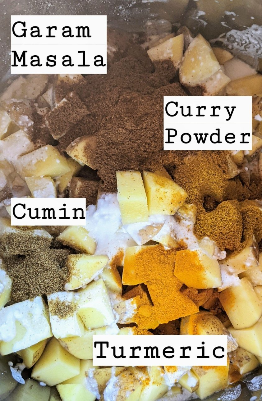 instagram story post on spices garam masala curry powder cumin and turmeric healthy spices to keep in your pantry for indian cooking and health