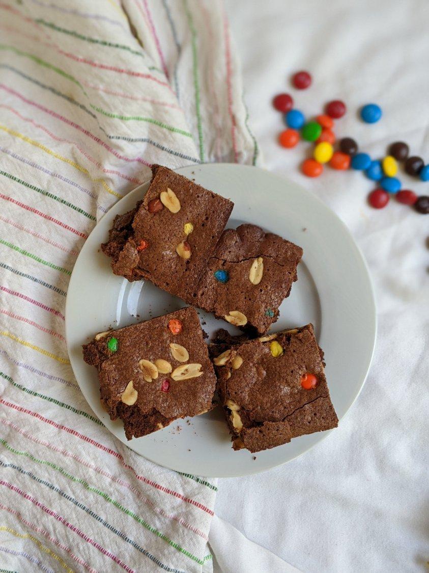 vegan monster brownies recipe healthy vegan gluten free vegetarian brownie options healthy raw cacao brownies