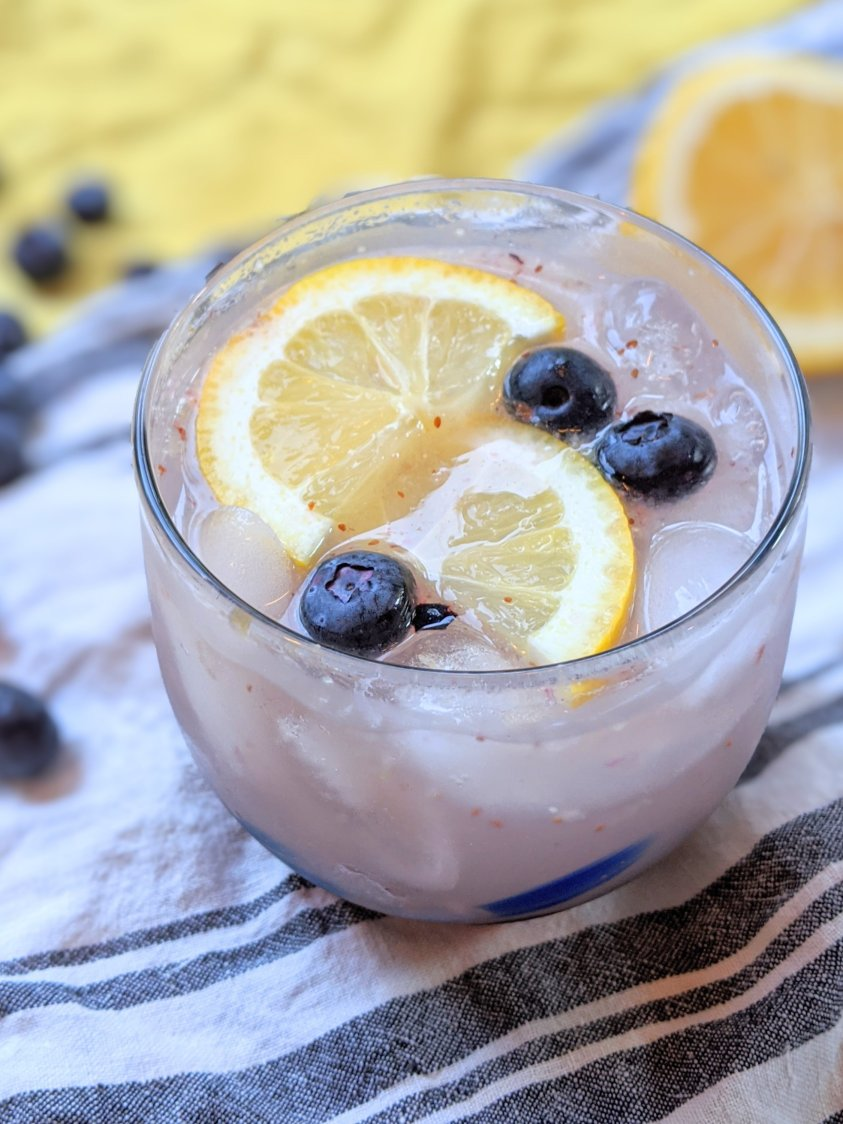blueberry gin gimlet recipe cocktails with blueberries