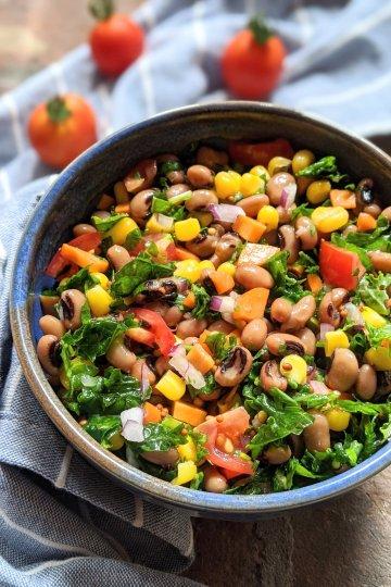 black eyed pea salad recipe vegan gluten free dairy free healthy