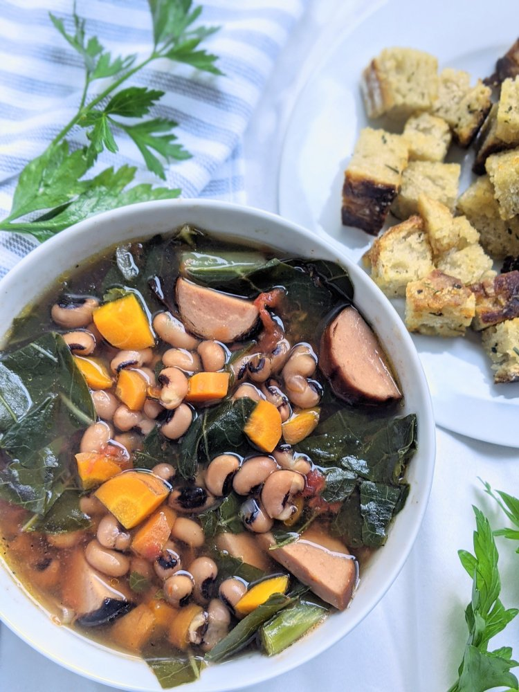 vegan black eyed pea recipes soups healthy new years day recipes high protein sausage field roast meatless monday recipes new year