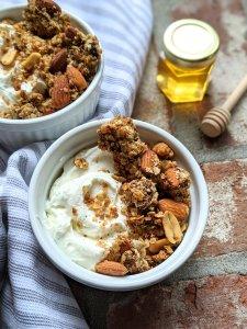 granola with raw honey healthy recipes with honey for fall granola nuts and honey granola