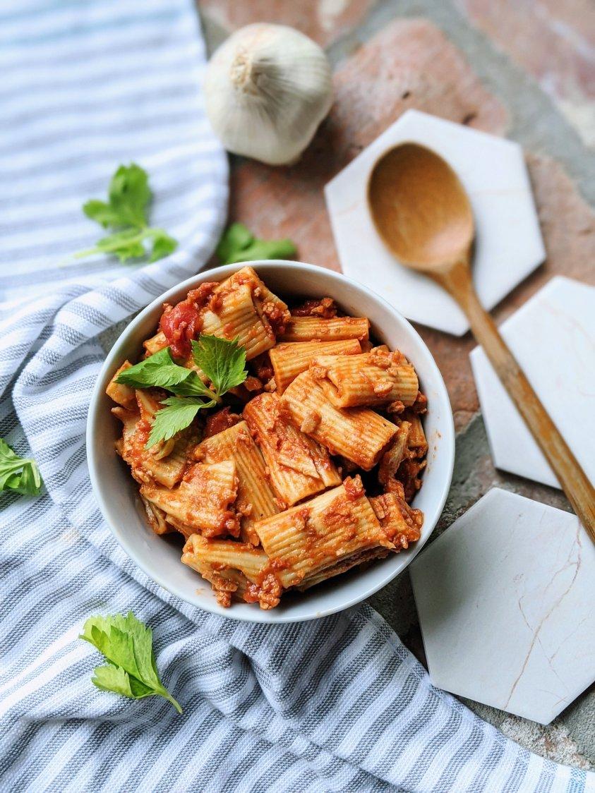 instant pot rigatoni vegetarian vegan healthy fresh vegan gluten free pantry meal for kids and families