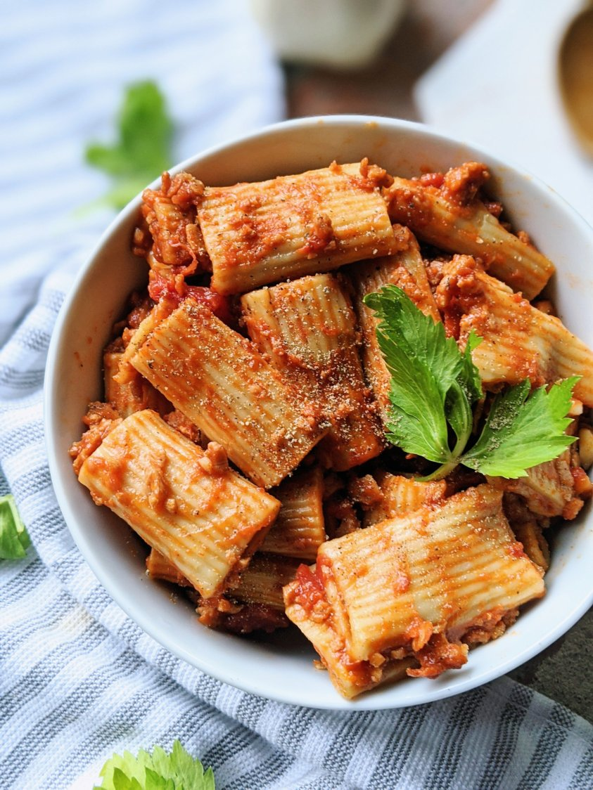 pasta in the pressure cooker recipe healthy vegan gluten free vegetarian no dairy