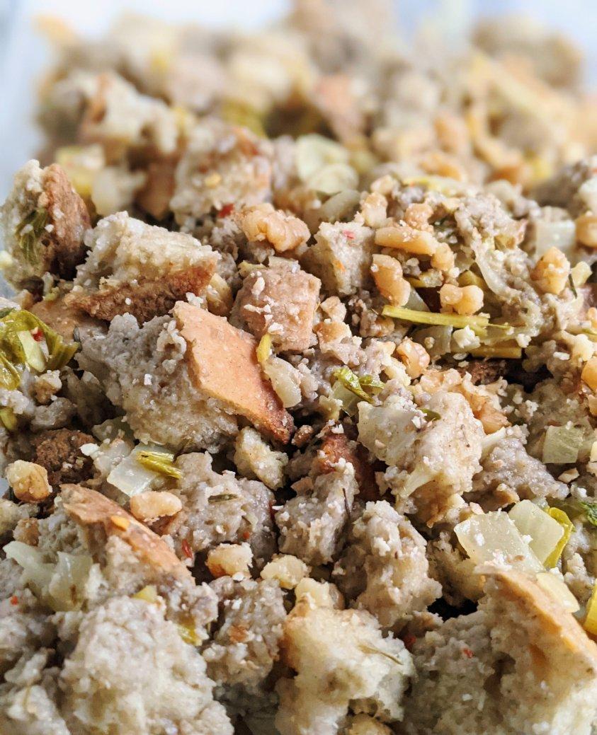no salt thanksgiving stuffing recipes vegan gluten free sage and herb stuffing healthy homemade dressing