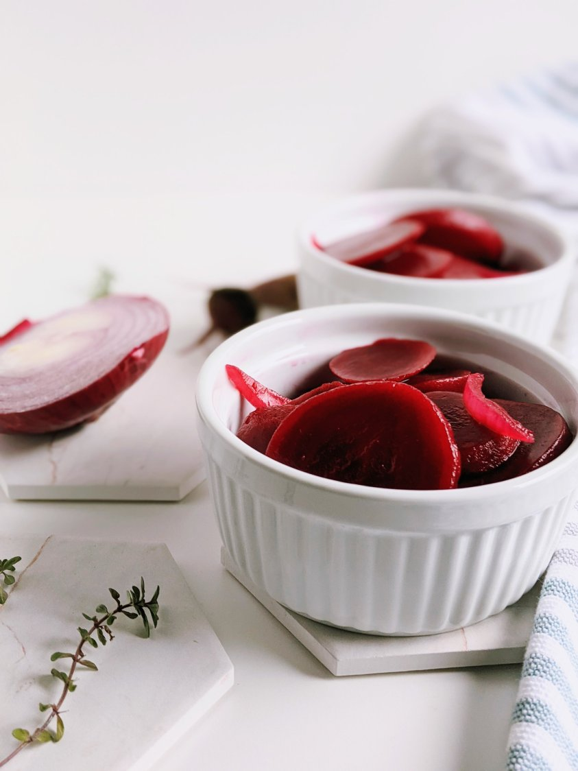 vegan pickled beets recipe bright fresh flavorful healthy canned beans can steamed cooked beets easy quick pickles