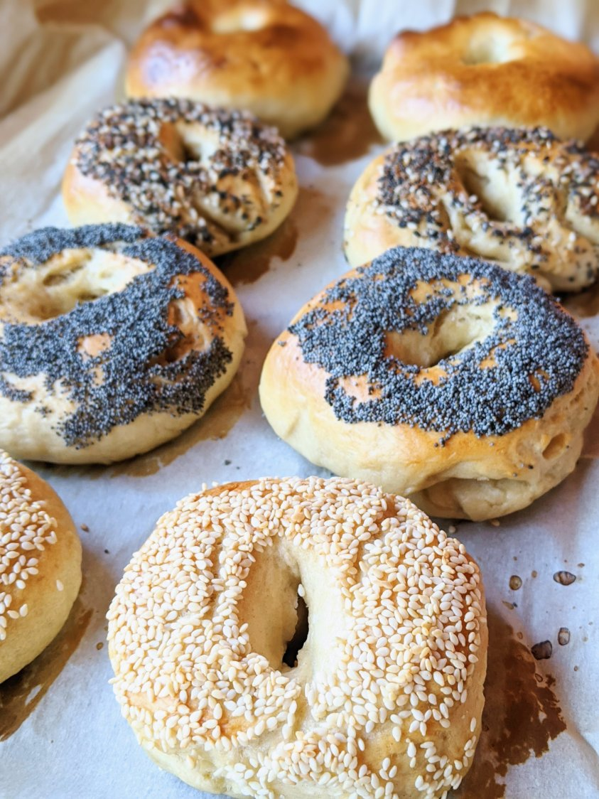 cheap breakfast ideas to make at home with pantry staple ingredients healthy homemade bagels filling breakfast on the cheap pennies flour