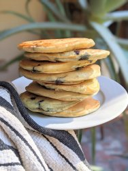 blueberry buttermilk pancake recipe healthy easy family favorite brunch recipes 15 minute breakfast recipes weekend meals