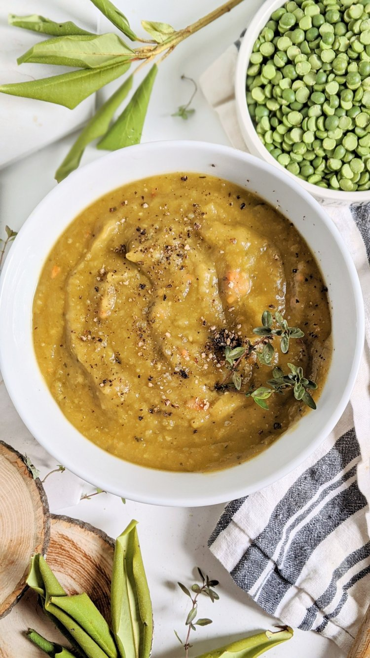 creamy gluten free split pea soup no potatoes healthy vegan vaganuary detox soup recipes healthy homemade gluten free peas butternut squash healthy soup recipes low sodium pea soup recipe