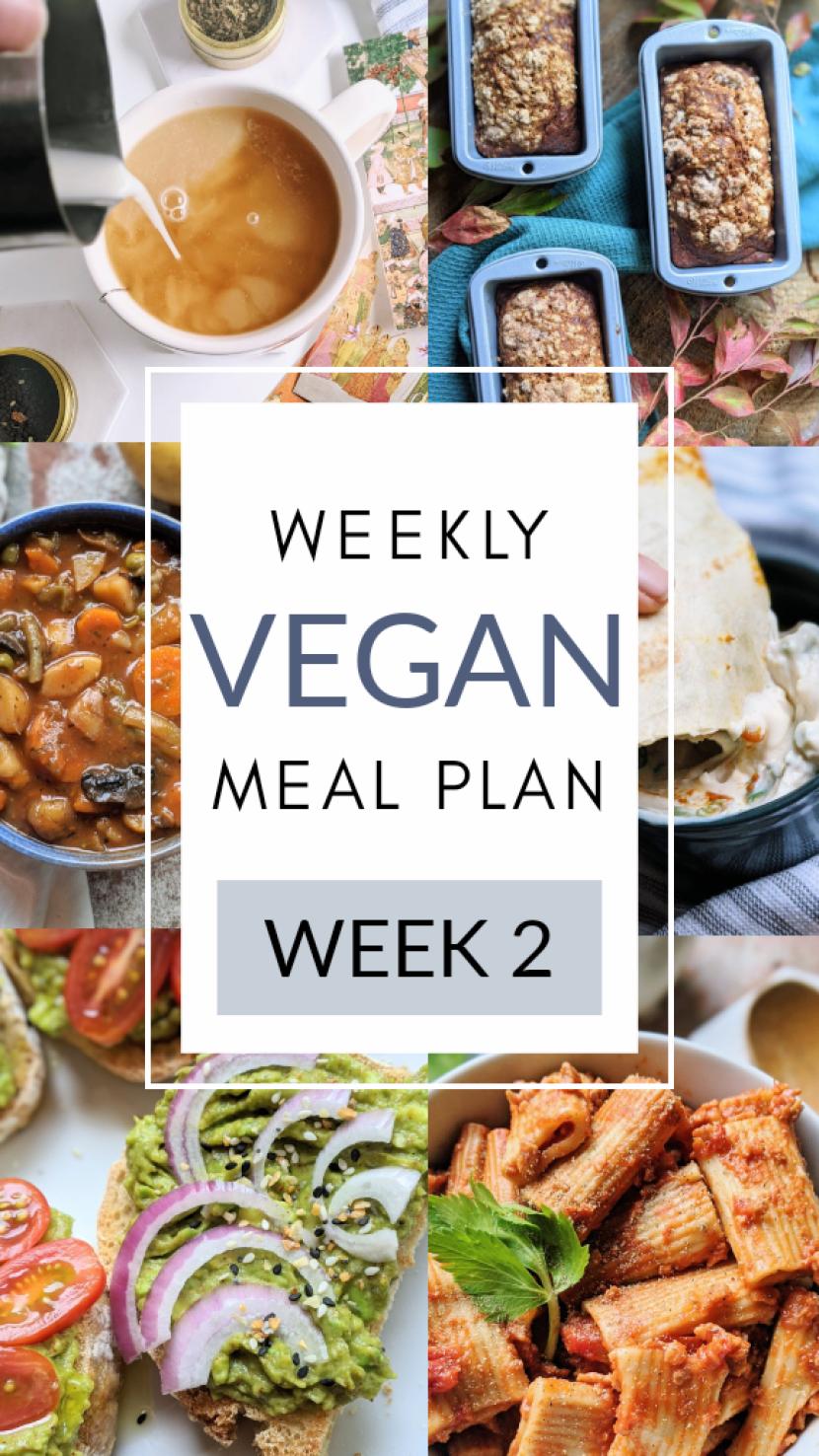 vegan meal plan for week or month healthy easy meal prep guide for vegans veganuary new vegan meal planning easy simple inexpensive cheap recipe ideas for vegans vegetarians weekly