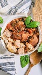 vegan ribollita soup with lentils high protein vegan italian recipes vegetarian gluten free option meatless veganuary soups tuscan lentil ribollita recipe