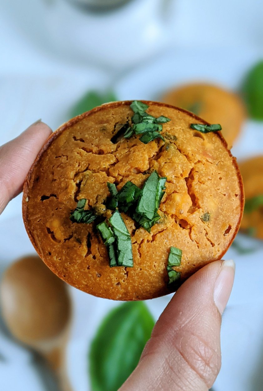 gluten free meal prep breakfast muffins recipe vegan grain free breakfasts healthy chickpea flour frittata muffins make ahead on the go breakfasts or brunch ideas hihg protein grain free good for you ingredients