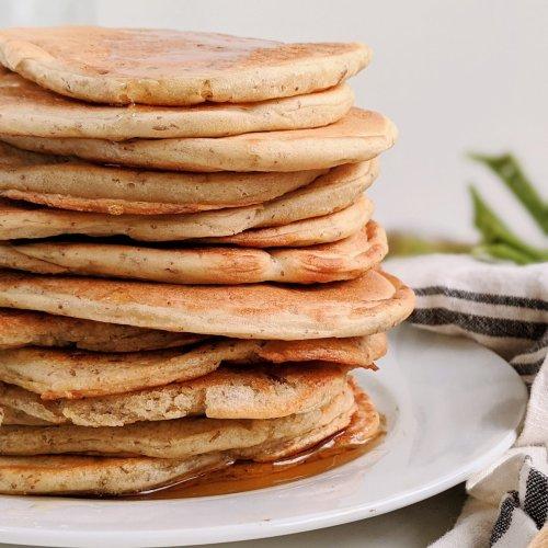 vegan sourdough pancakes recipe healthy vegetarian sourdough discard recipes breakfast brunch dairy free baking recipes egg free pancakes healthy pantry staple meals with sourdough starter discard