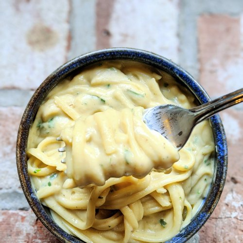 almond milk alfredo recipe dairy free fettuccine alfredo pasta recipe sauce healthy vegan vegetarian gluten free creamy pasta recipes