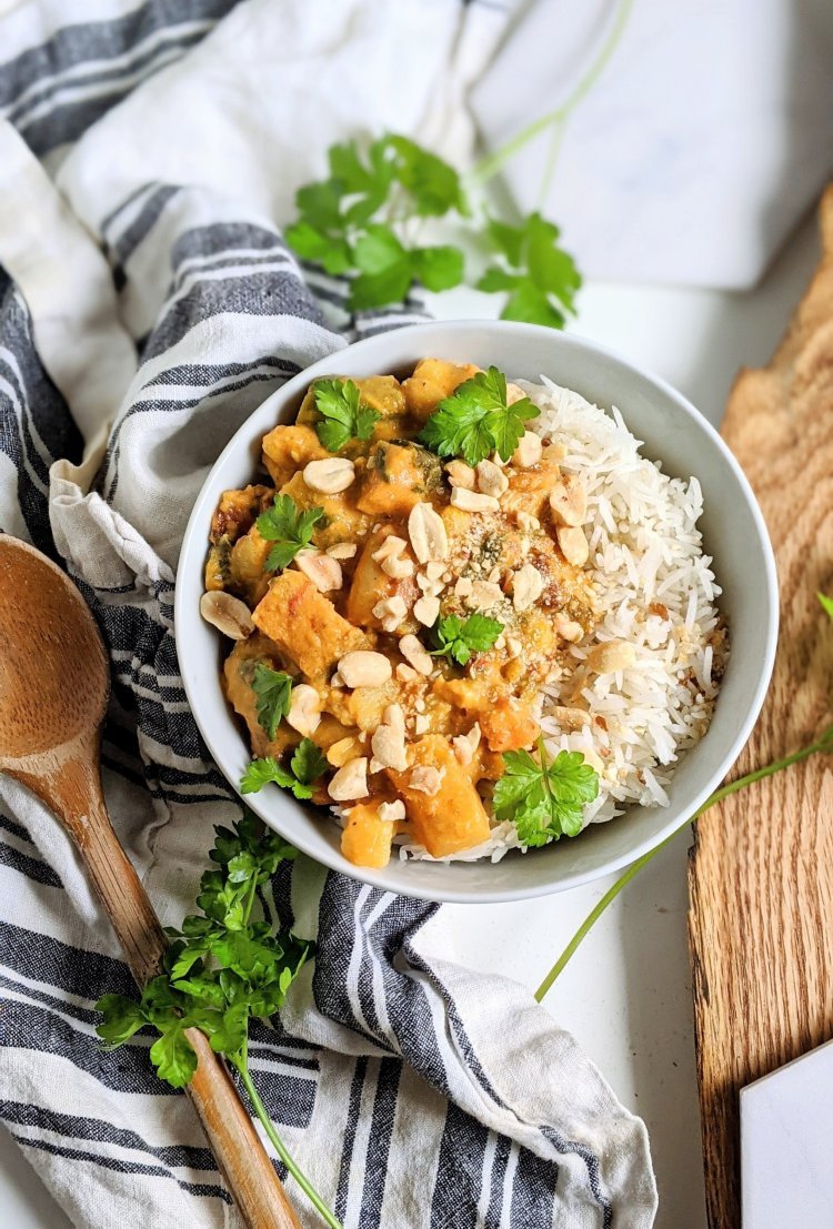 add peanuts to curry recipes healthy paleo sweet potato recipes gluten free vegan veganuary recipes for dinner lunch supper whole30 recipe 30 minute curries