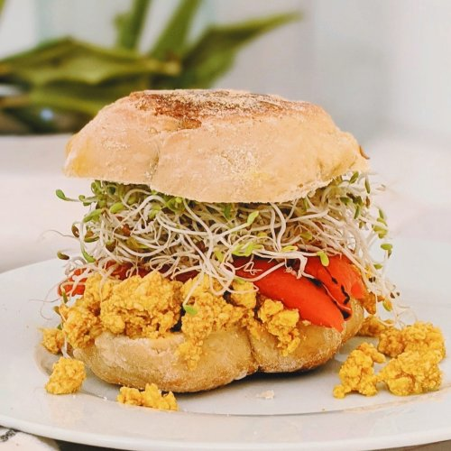 turmeric tofu breakfast sandwich recipe vegan gluten free high protein breakfast sandwiches healthy plant based protein can you eat tofu for breakfast