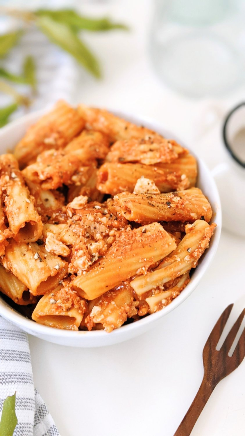 tofu pasta sauce vegan vegetarian high protein meatless pasta recipes healthy pastas with tofu italian bolognese with tofu recipe no meat bolognese sauce