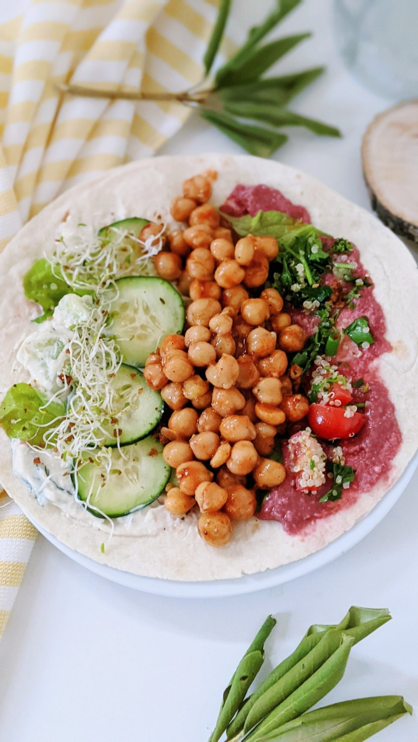 shawarma spiced chickpea recipe pita wrap garbanzo beans california grown recipes healthy chickpea lunch ideas canned chickpeas at home wrap and sandwiches with beans vegan gluten free shwarma