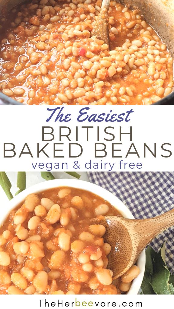 british baked beans recipe healthy homemade english breakfast beans recipe healthy heinz beans copycat recipe vegan gluten free vegetarian plant based