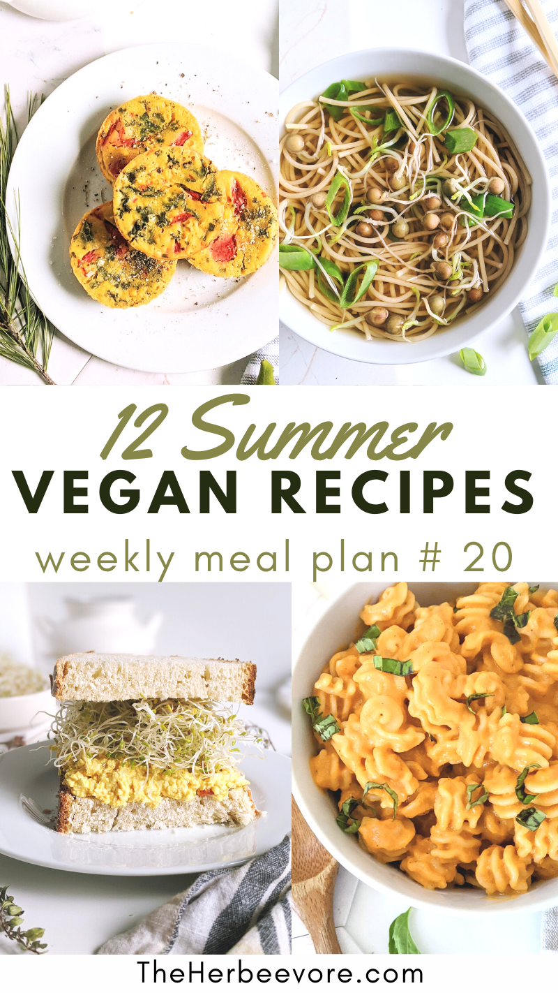 summer vegan recipes plant based healthy recipes for warm weather hot day recipes vegetarian summer recipes for summer days vegan plant based healthy light summer recipes breakfast lunch or dinner and dessert