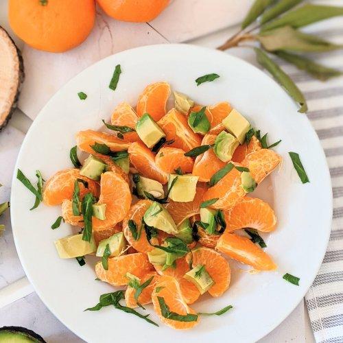 orange and avocado salad recipe vegan breakfasts whole30 breakfast recipes paleo raw vegan gluten free orange and avocado salad healthy plant based citrus salads for summer
