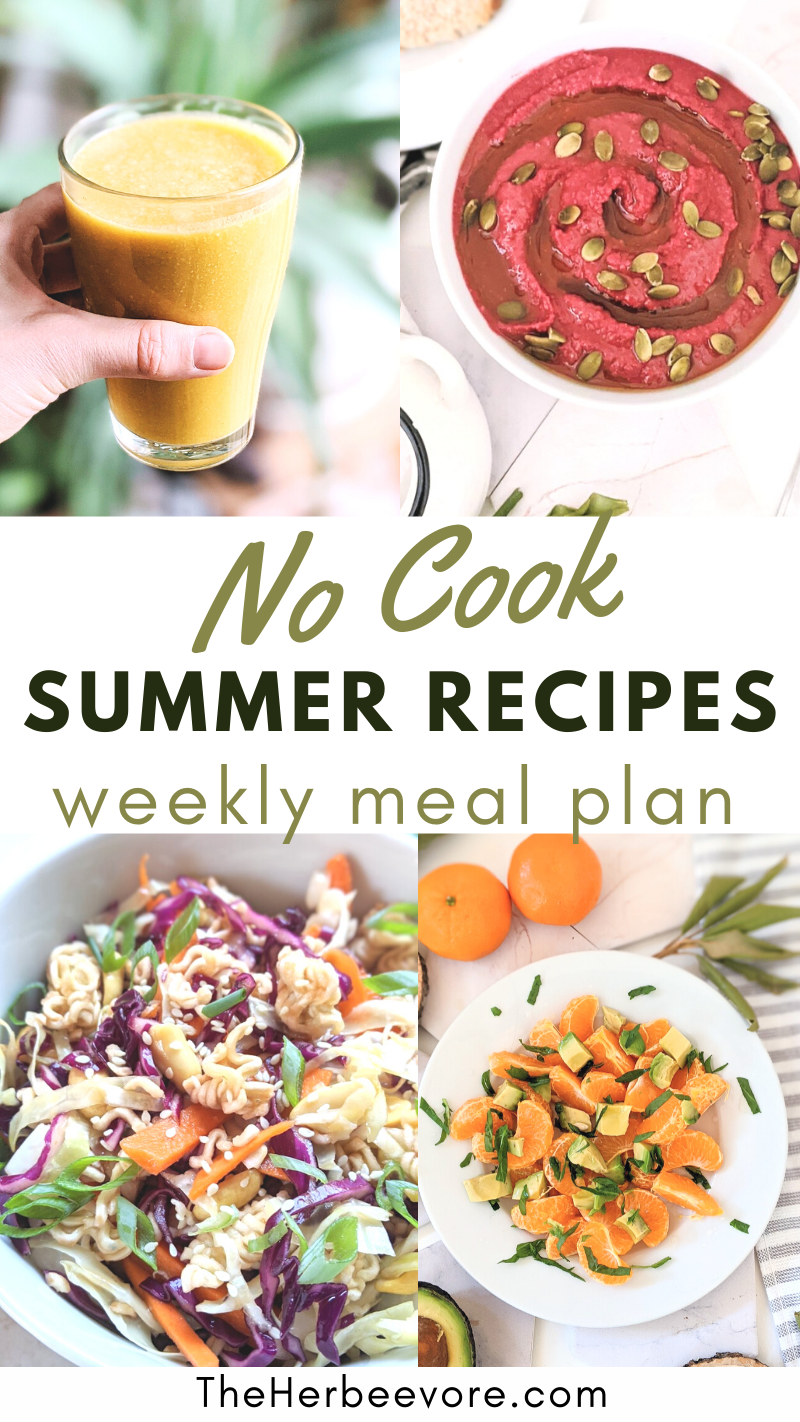 no cook recipes for summer meal ideas no cooking cold breakfast ideas ready to eat lunch recipes for summer no cook meals healthy dinners without cooking meal plan no heat