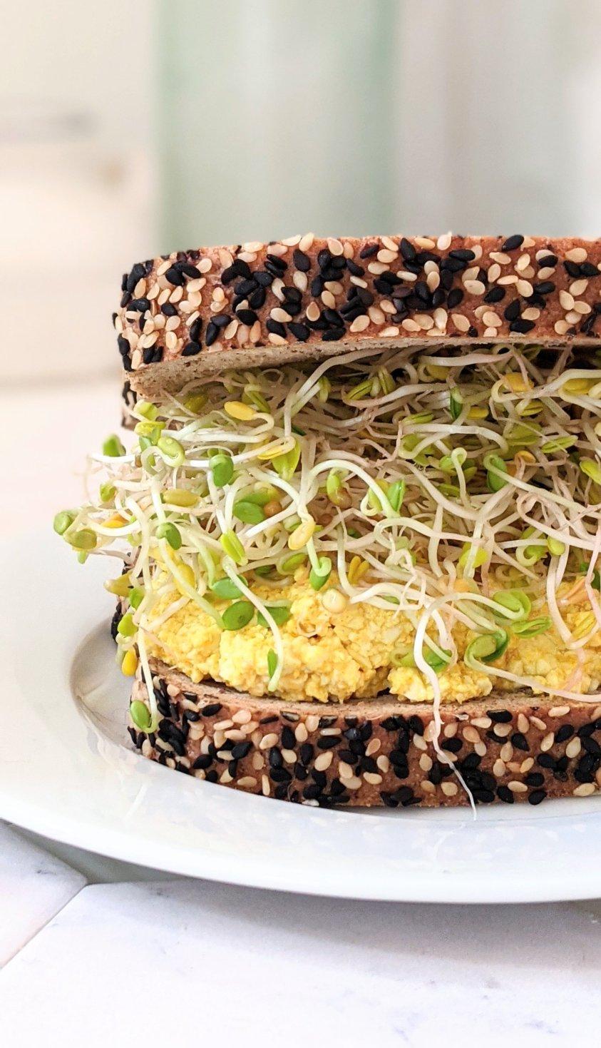 vegan low carb breakfast recipe vegan keto breakfasts low carb high fiber vegan recipes breakfast sandwiches low carbohydrate vegan breakfast sandwiches