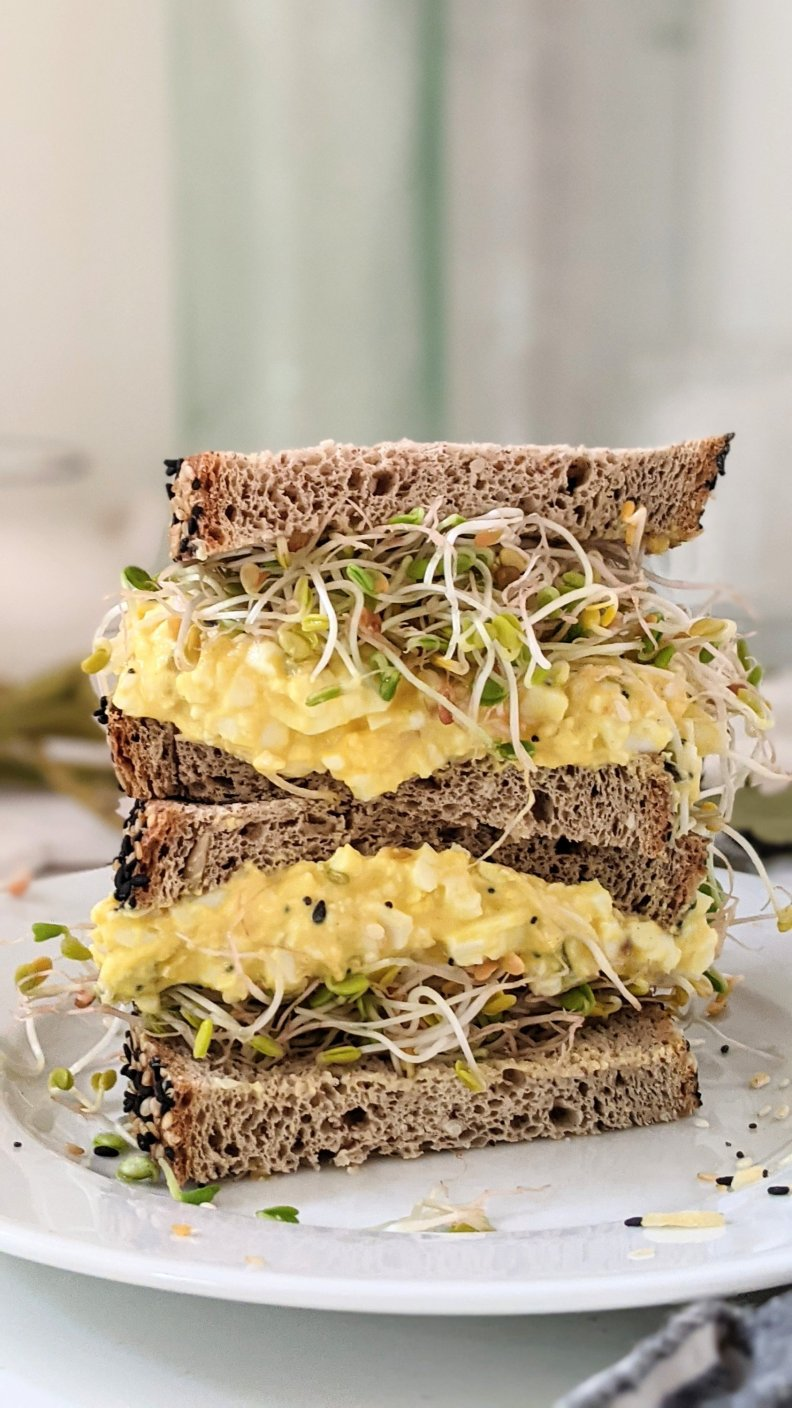 everything bagel sandwich with egg salad no cook lunches keto low carb summer recipes without cooking healthy high protein low carb sandwiches