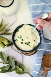 vegan garlic sauce for falafel kebab and shawarma recipe tofu garlic dipping sauce for greek or mediterranean sauces vegan dairy free yogurt garlic sauce recipe