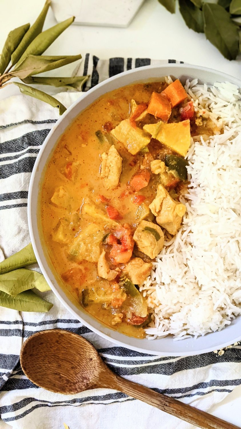 creamy non dairy chicken stew with pineapple recipe healthy chicken dinners with fruit and chicken stew tropical chicken recipes without dairy gluten free dinners for the family