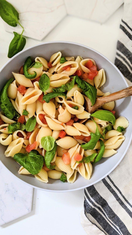 garden tomato pasta salad with vegan bruschetta recipe with pasta healthy cold pasta and tomato recipes what to do with garden tomatoes recipes for tomato garden recipes