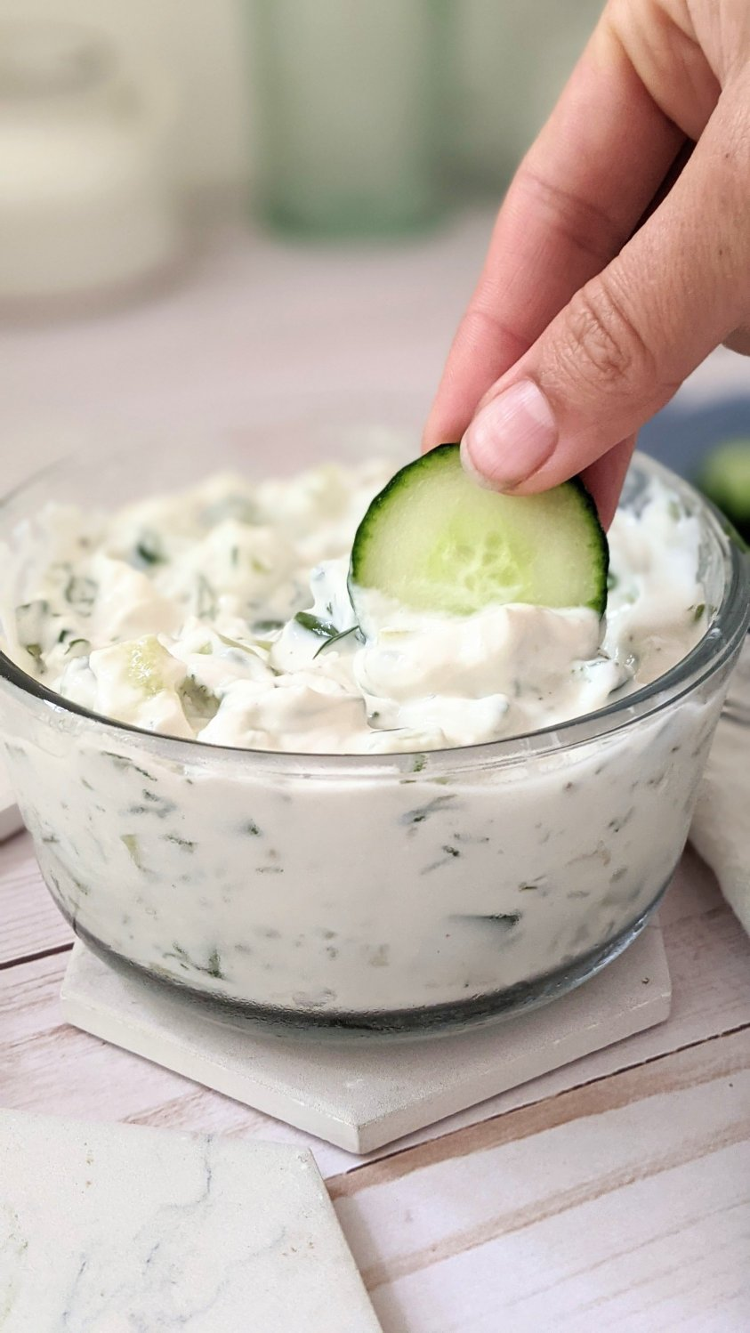 keto tzatziki sauce recipe healthy low carb dip recipes with cucumber yogurt low carb spread for shawarma pitas or grilled meats keto greek dip recipes