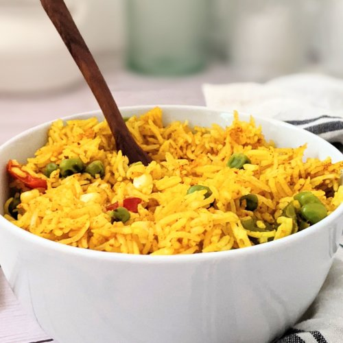 rice cooker yellow rice in the rice cooker easy one pot yellow rice vegan spanish rice and yellow greek rice mexican rice no saffron recipe