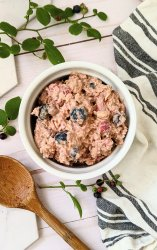berry chocolate overnight oats with strawberry chocolate and blueberry cacao no cook plant based breakfast ideas without cooking healthy summer recipes for berry season vegan dessert for breakfast