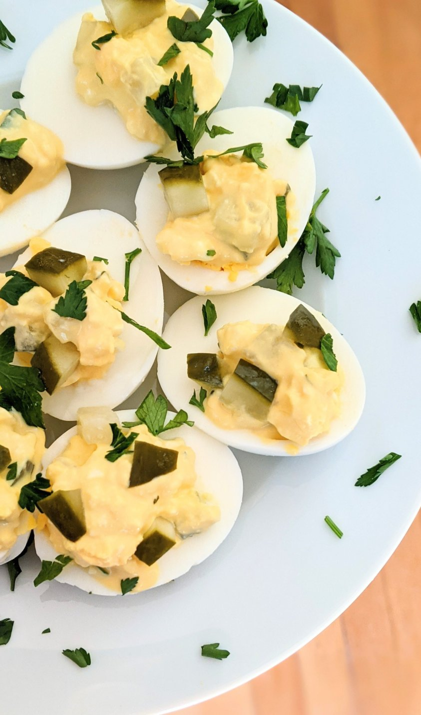 keto vegetarian appetizer recipes low carb meatless side dishes for bbq potluck or party snacks keto low carb no meat recipes deviled eggs with pickles keto