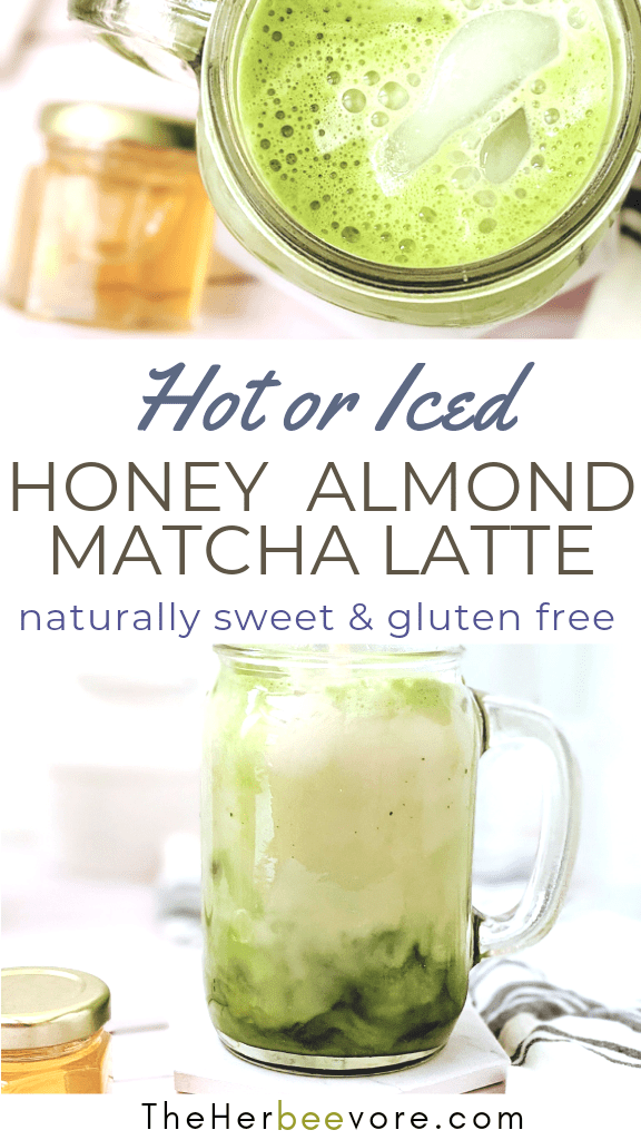 dairy free matcha latte with honey how to make almond milk in a blender for lattes healthy naturally sweetened matcha latte with honey and vanilla matcha latte flat recipe
