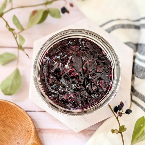 huckleberry jam recipe with chia seeds recipes for fresh huckleberry jelly and jam without pectin vegan gluten free fresh huckleberry recipes for summer easy jam with huckleberries