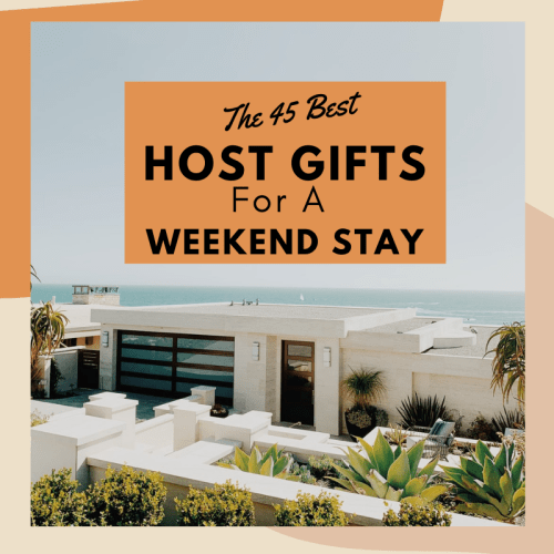weekend host gift ideas presents for hostess of overnight stay what to get host for weekend vacation away from home