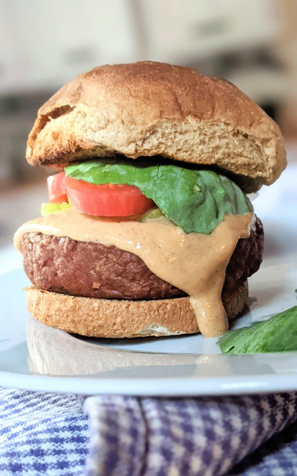 vegan in n out burger recipe vegetarian copycat in and out burger meatless make at home in n out burgers plant based healthy