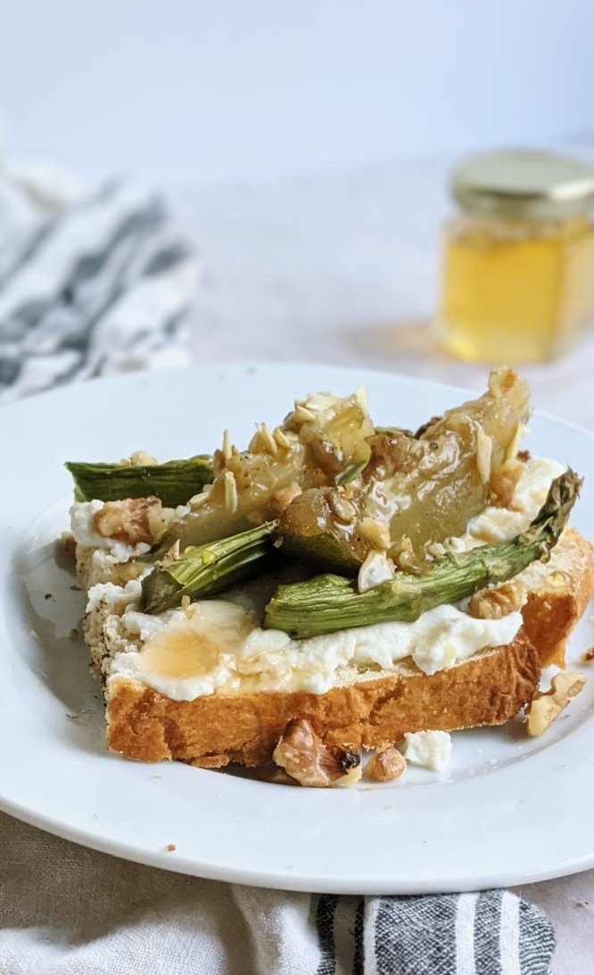 ricotta toast honey vegetables breakfast recipes healthy brunch ideas with asparagus and squash gluten free vegetarian brunch ideas for a crowd fancy breakfasts with veggies