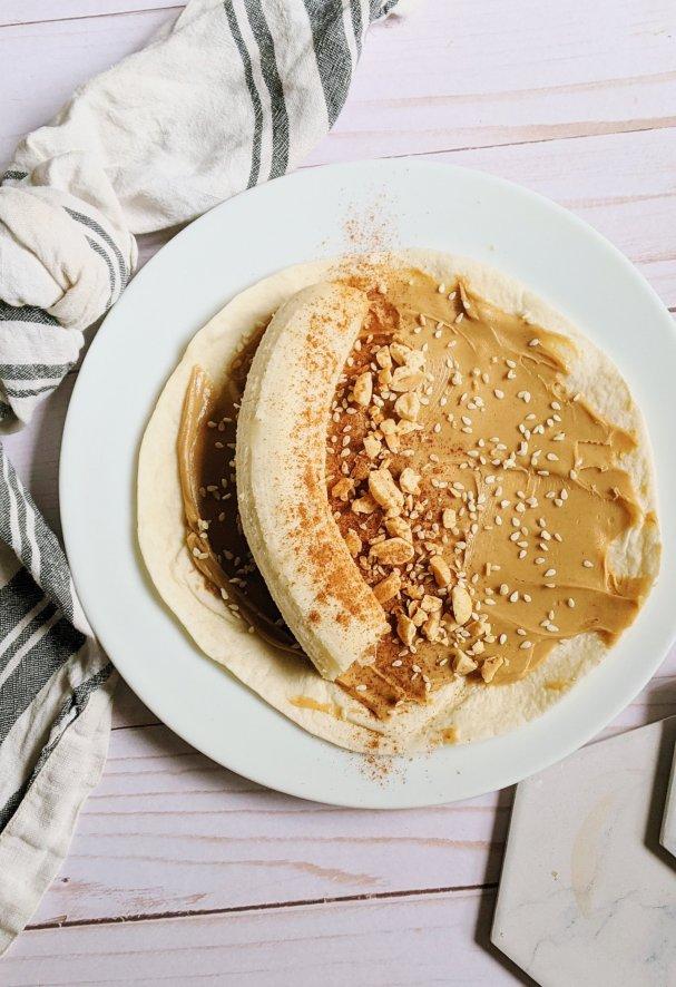 banana wrap recipe dairy free wrap recipes are wraps dairy free no dairy wrap recipes peanut butter and banana protein wrap recipes