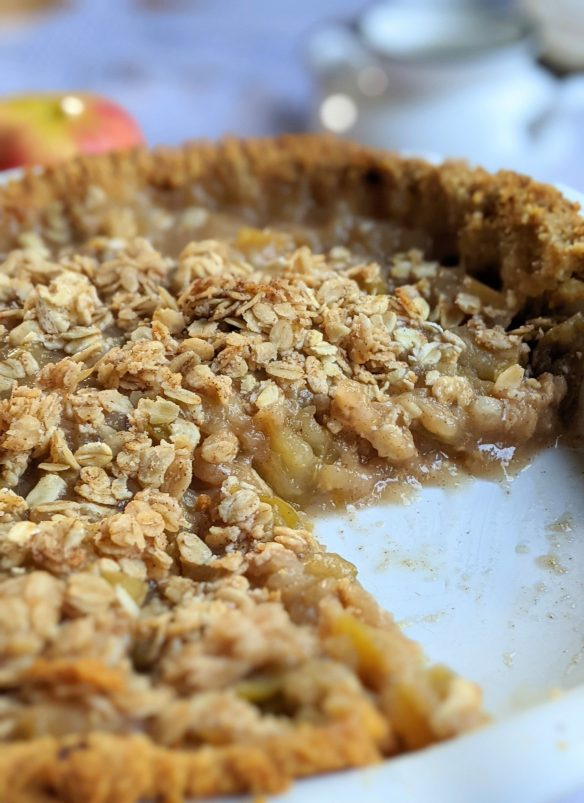 homemade apple pie reduced sugar pie filling recipe better than canned apple pie filling with a slice gone
